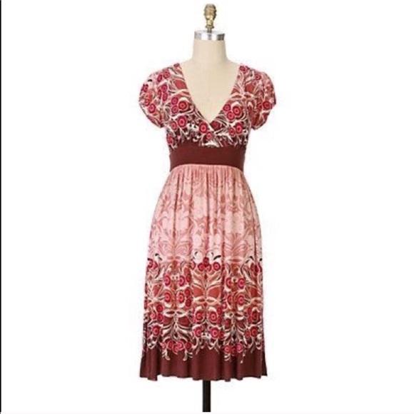 Anthropologie Dresses & Skirts - Anthropologie RicRac Dress vintage vibes S